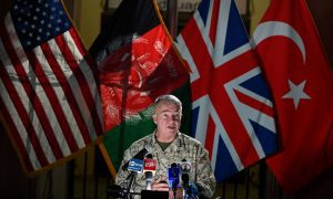 The U.S offers further air support to Afghan troops amid Taliban offensive