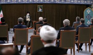 Iran's Khamenei blames the cowardly U.S. for the pause in nuclear talks