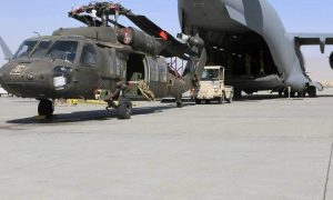 An era ends, uncertainty looms as U.S. forces quit main Afghanistan base