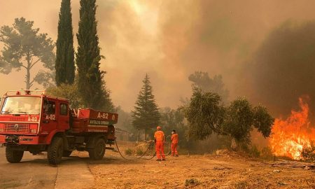 Turkish wildfire leaves charred homes and ashes as blazes spread