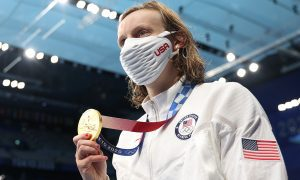 Katie Ledecky leaves Tokyo with four gold while Team USA is on its way to a finish in baseball